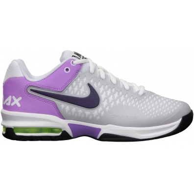 the best attitude 23184 3cd2a chaussures-nike-air-max-cage-w-pourpres-blanches